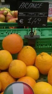 Deve accadere o le arance?