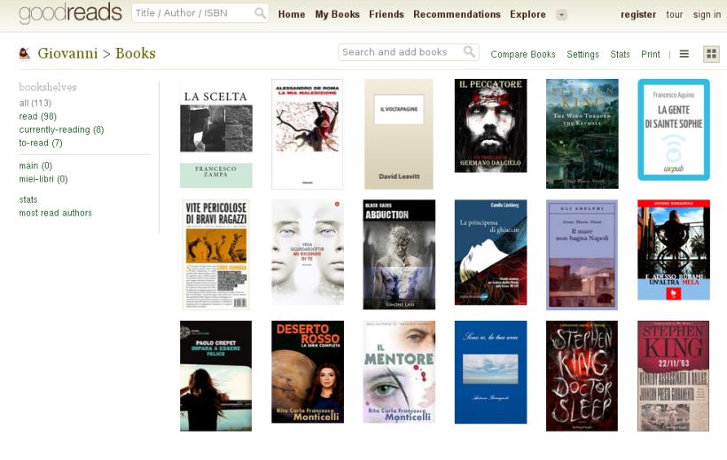 molti dei libri che ho letto nel 2014